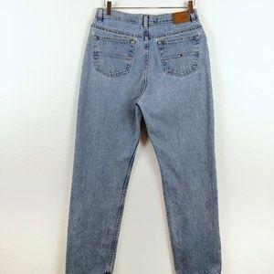 Vtg Tommy Hilfiger High Rise Light 90s Mom Jeans